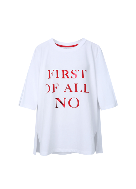 Big Typography T-shirts [조이 착용]