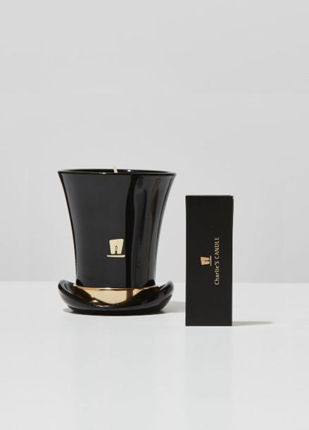 [찰리스캔들]Top Hat, Gentle Edition Candle_BLACK