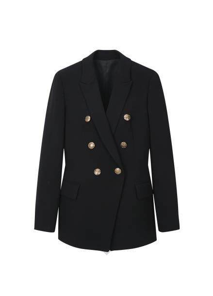 (인기상품) Gold Button Point Jacket
