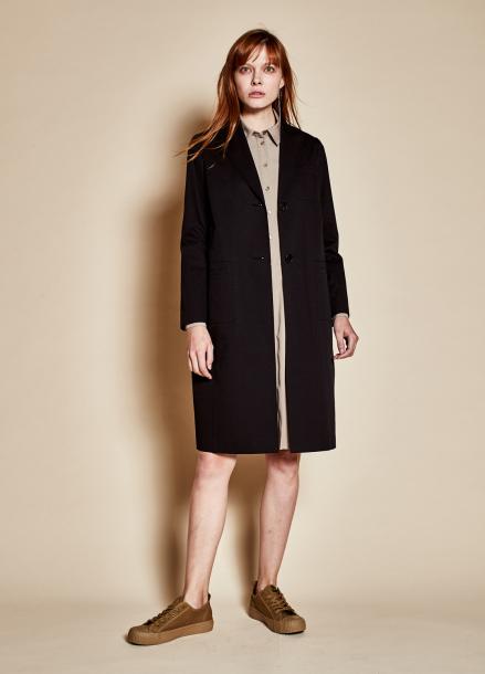 [TheKstory]Three pocket coat_black