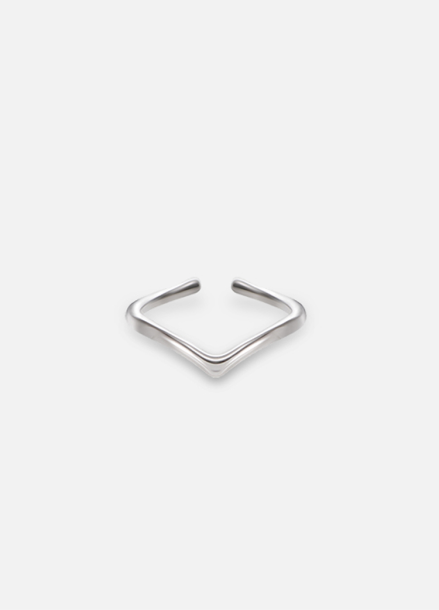[HEYHOVER/10%SALE]SILVER DROP R (실버 프리 반지)