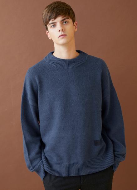 [MILLOGLEM/17FW신상/10%+5%COUPON] snuggle sweater - blue
