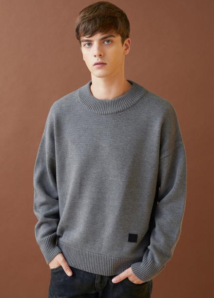 [MILLOGLEM/17FW신상/10%+5%COUPON] snuggle sweater - gray