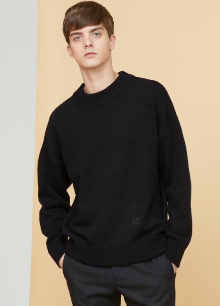 [MILLOGLEM/17FW신상/10%+5%COUPON] snuggle sweater - black