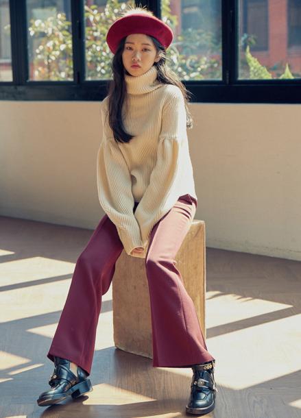 [LAFETE]Wool Knit White