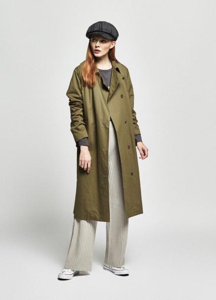 [URAGO/OCTOVER신상/5%+5%COUPON]autumn street trench coat