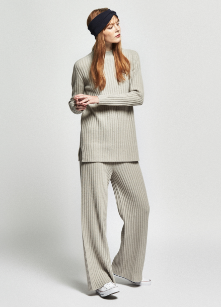 [URAGO/OCTOVER신상/5%+5%COUPON]fine wool knit pants
