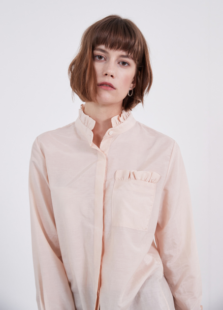 [YouNess] Mary Silk Shirt