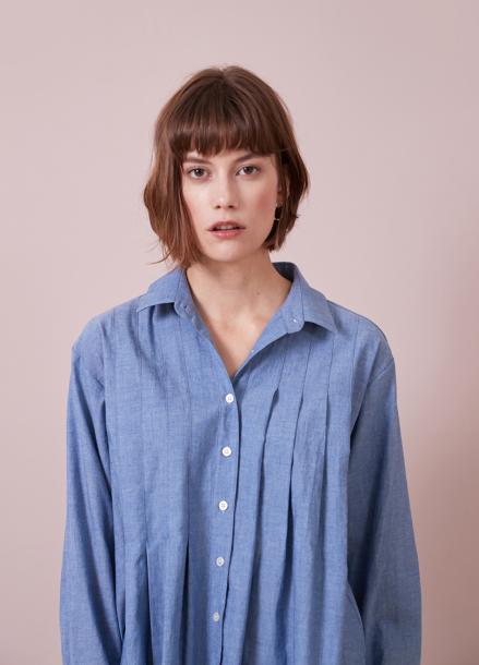 [YouNess] Helen Pleats Shirt