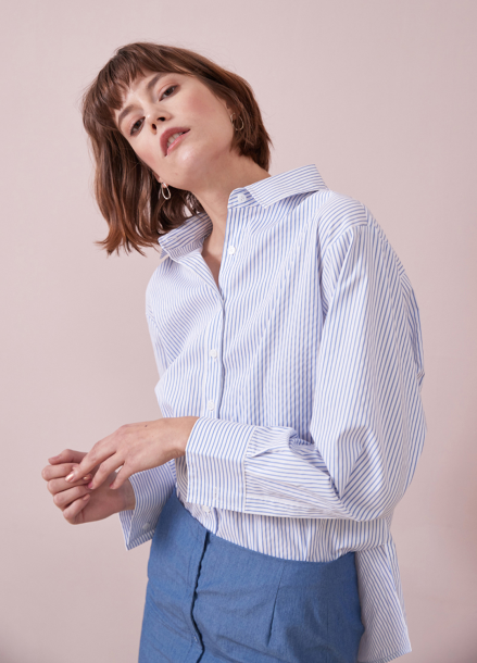 [YouNess] Split Shirt_WS