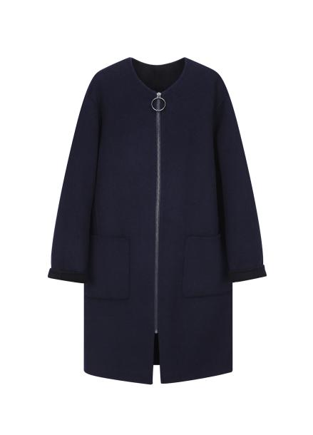 [단독30%] ★ Handmade Oversized Zip-Up Coat
