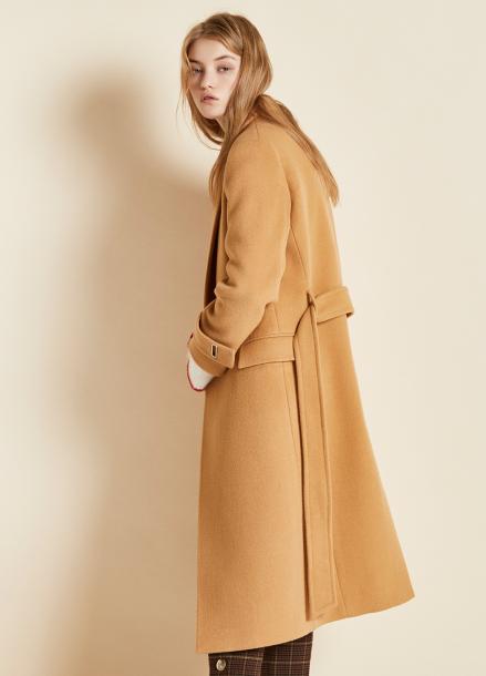 [CLUE DE CLARE/17FW시즌오프/10%SALE] belted single coat Beige