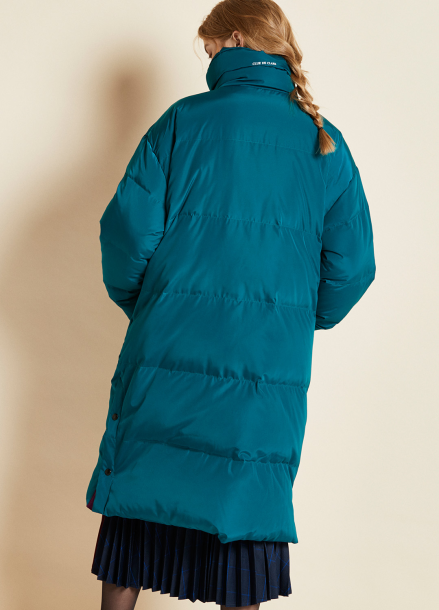 [CLUE DE CLARE/시즌오프!/30%] embroidered padding Green