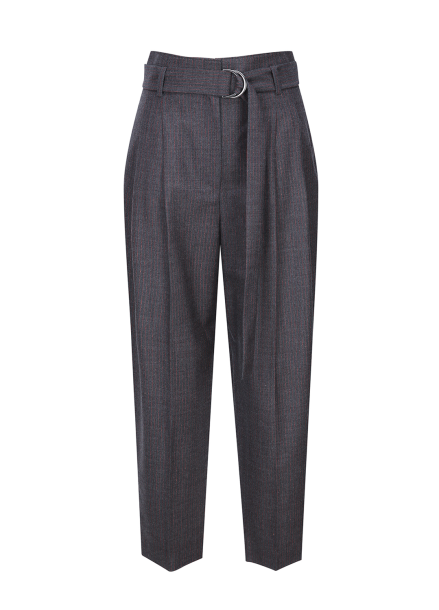Stripe Pintuck Pants