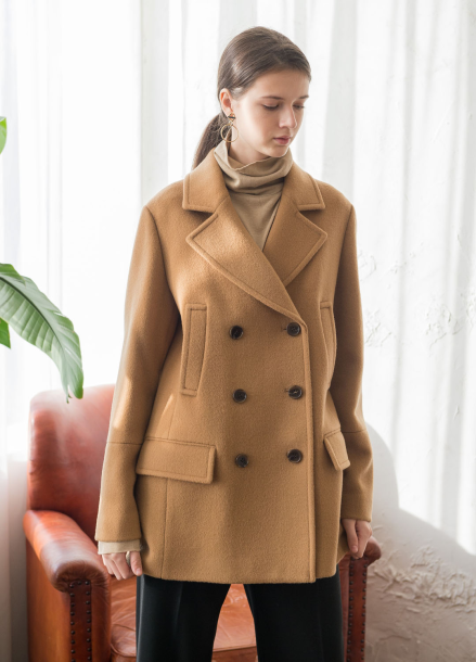 [NOCOCHIC/고객감사전/5%+5%COUPON]NC HLINE TAIH_LINE TAILORED COAT [BE]