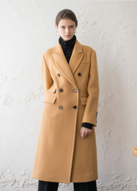 [NOCOCHIC/시즌오프!/30%] CLASSIC DOUBLE TAILORED COAT [BE]