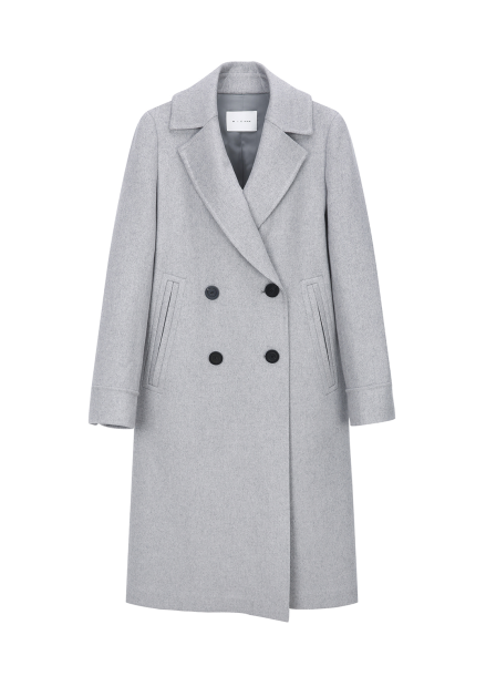 (인기상품) Double Button Cashmere Coat
