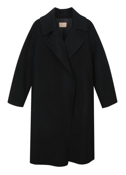 Big Collar Regular Fit Coat