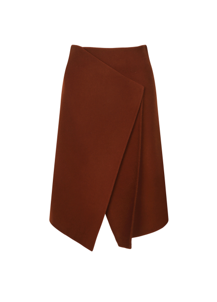 Wool Wrap Design Skirt