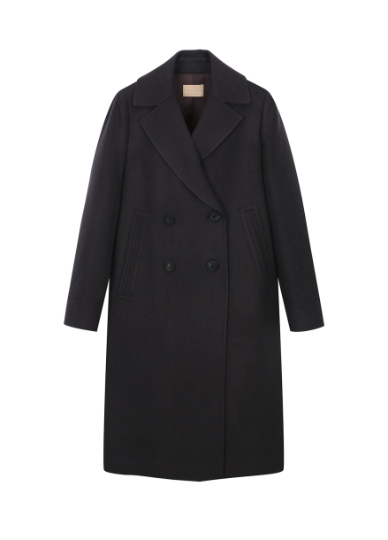 Cashmere Double Button Coat