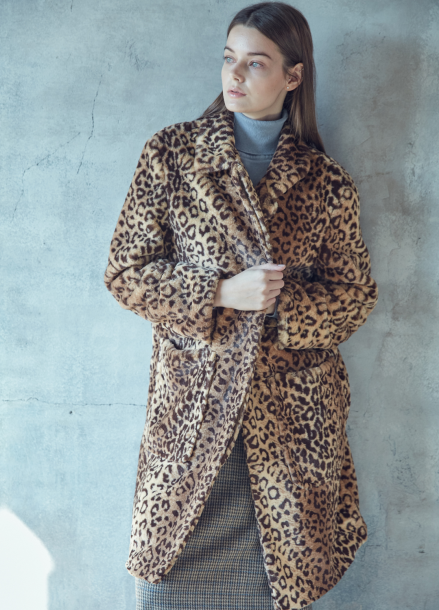 [RINGMYBELL] CHUKY LEOPARD FAKE FUR COAT<br>[PRE-ORDER 진행]