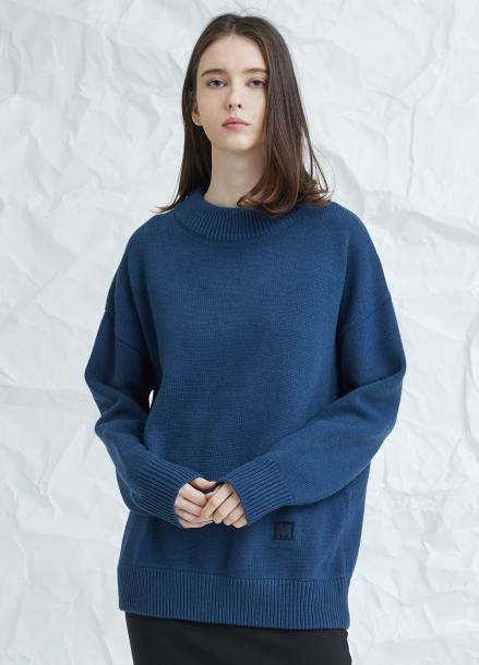 [MILLOGLEM/17WINTER/7%SALE] snuggle sweater - blue