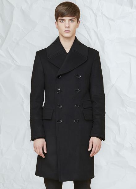 [MILLOGLEM/연말결산세일/30%] arene double breasted coat - black