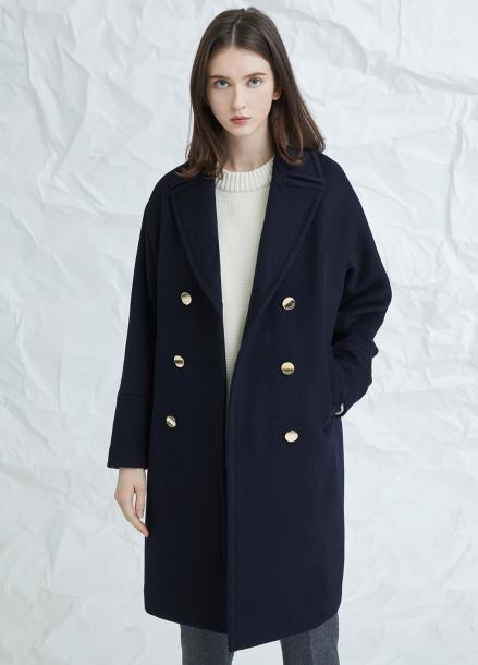 [MILLOGLEM/연말결산세일/30%] blume coat - navy