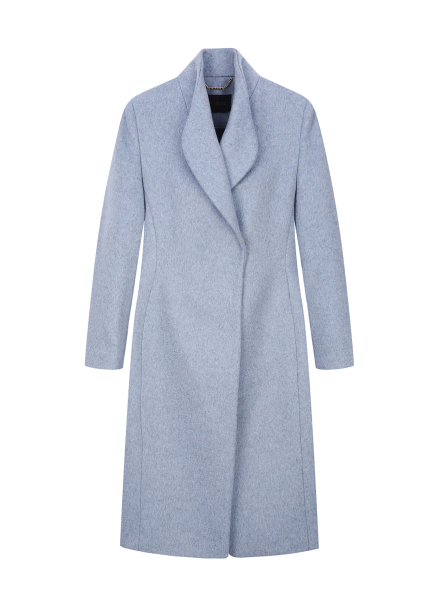 Shawl Collar Cashmere Coat