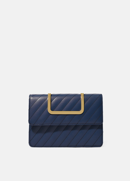 [EENK]HANDY BAG_QUILTING NAVY
