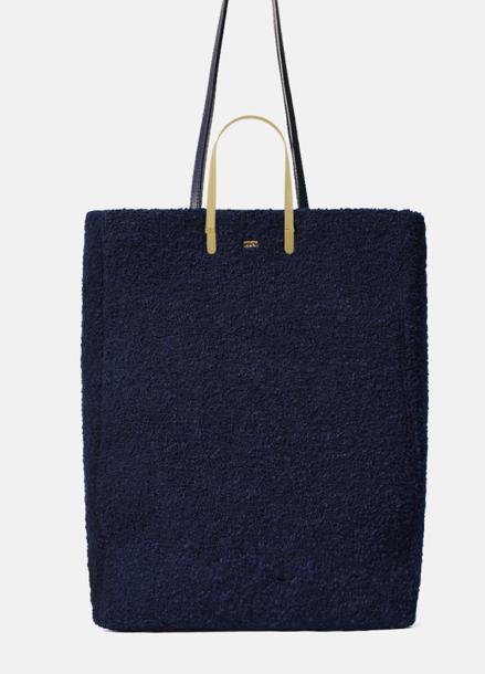 [20%할인/EENK] HOPPER BAG WOOL NAVY