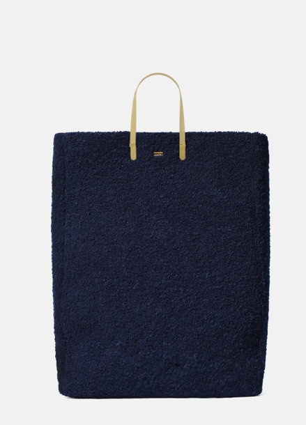 [EENK] HOPPER BAG WOOL NAVY