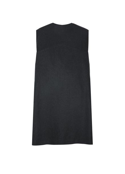 ★ Wool Blend Slit Detail Vest