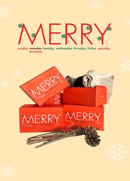 [IHATEMONDAY]Christmas Gift 3p Set