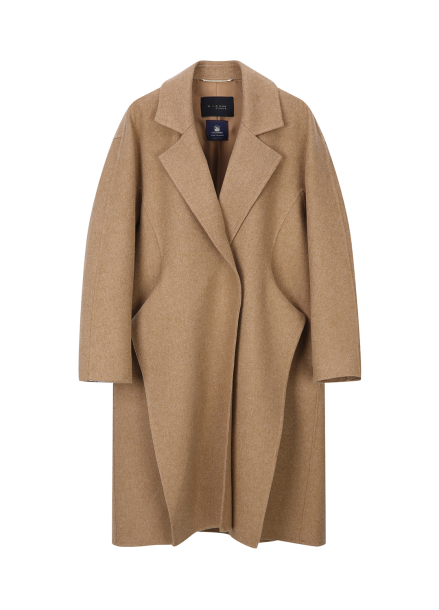 Front Point Cashmere Coat