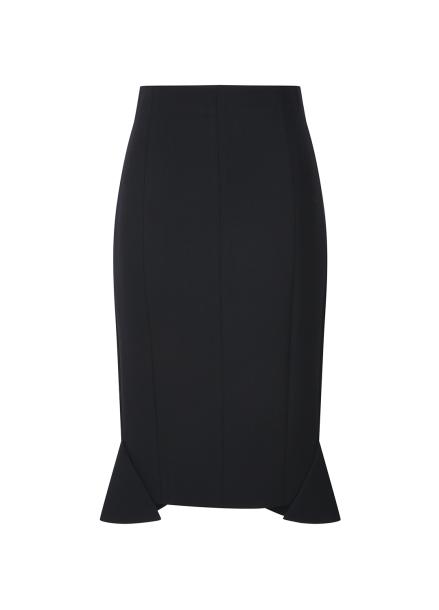 Side Layered H-Line Skirt