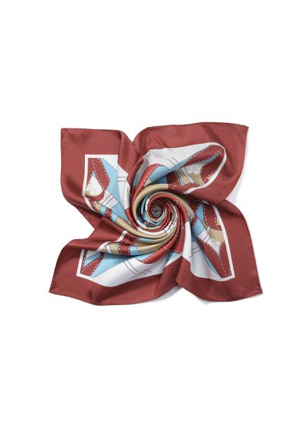 Ribbon Printed Muffler