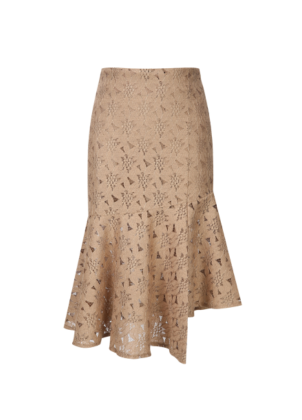 [30%] Unbalance Lace Mermaid Skirt