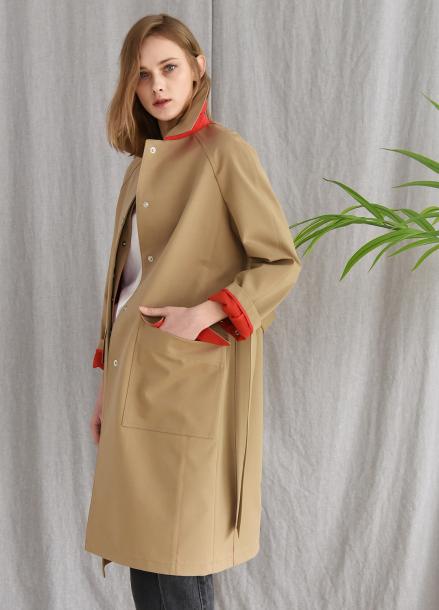 [PINBLACK/20%+5%SALE] basic mac trench coat BEIGE