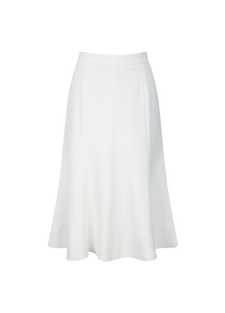 Flare O Ring Midi Skirt