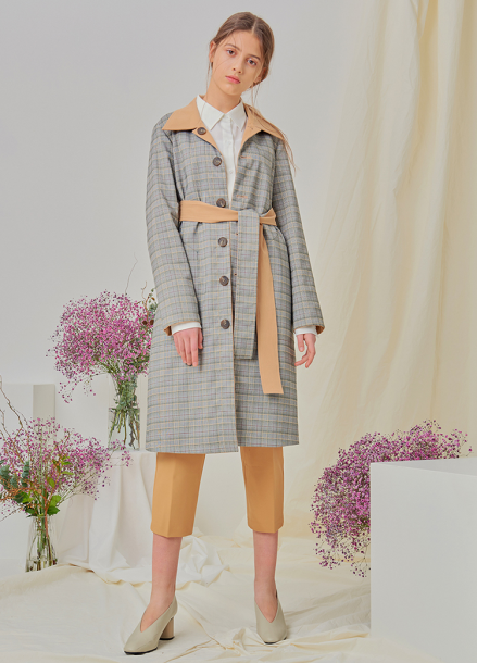 [NUPARCC/18SS 신상5%+5%쿠폰] Reversible Trench - CH&BE