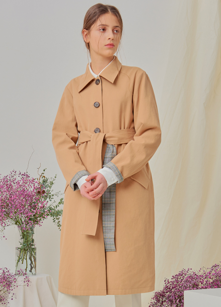 [NUPARCC/18SS 신상5%+5%쿠폰] Reversible Trench - BE&CH