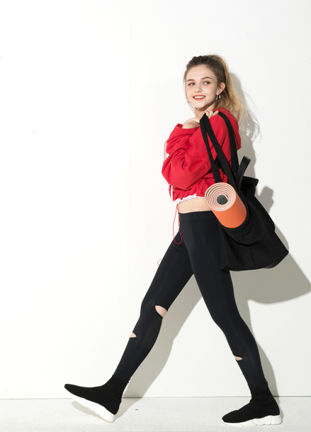 [ATICLE/18SS 신상 5%+5%쿠폰]  18SS Slit Welding leggings