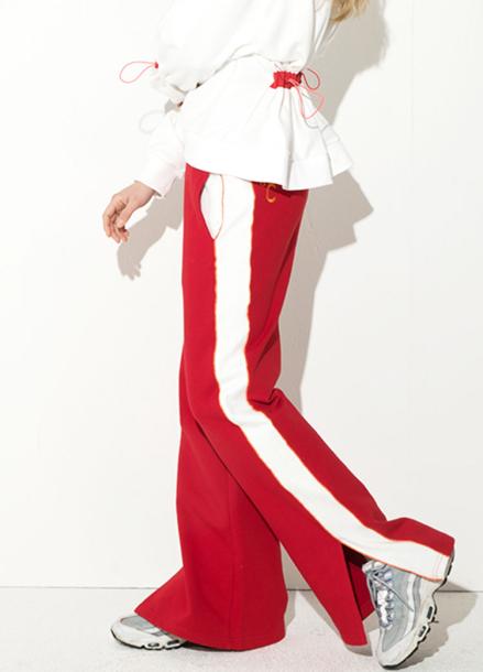 [ATICLE/18SS 신상 5%+5%쿠폰] 18SS Slit wide pants
