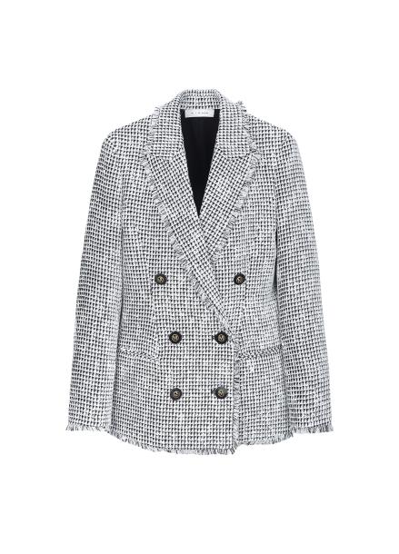 Tweed Tassel Point  Jacket
