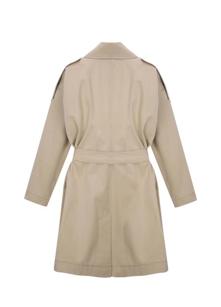 [얼리버드10%] <BR>★ Cotton Half Trench Coat <BR>[2월28일 입고예정]
