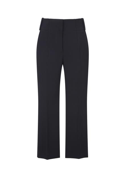 Basic Style Slacks Pants