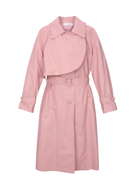 Collar Point Trench Coat
