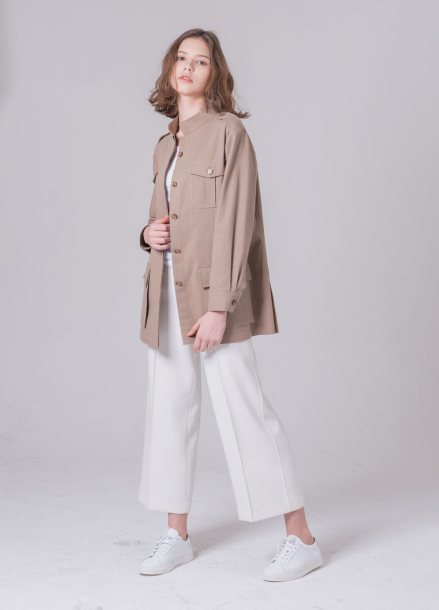 [NOCOCHIC/18SS 5%+5%쿠폰] MANISH LINEN JACKET[BE]