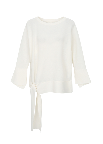 Loose Fit Waist Point Pullover